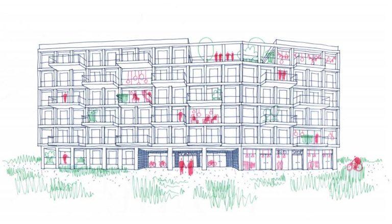 SCHWUNG: CO-HOUSING OP DE KOMET-SITE